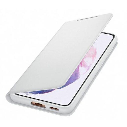 Kaaned Samsung Galaxy S21 EF NG991PJ light gray light gray LED View Cover 3