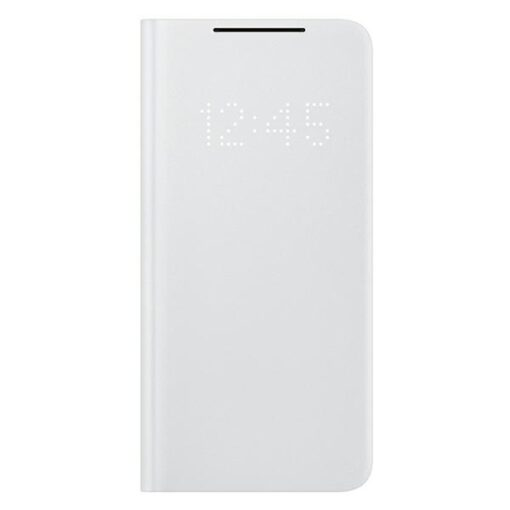 Kaaned Samsung Galaxy S21 EF NG991PJ light gray light gray LED View Cover