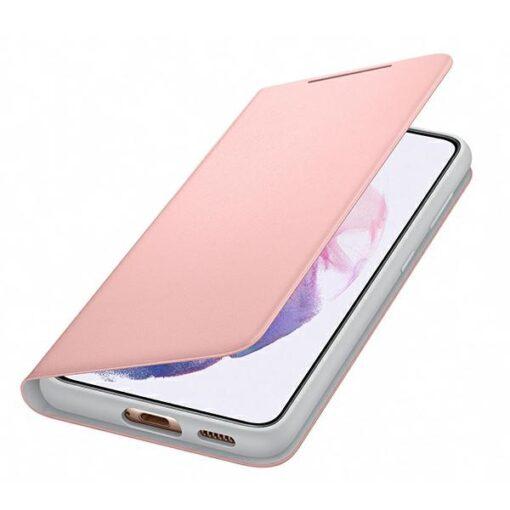 Kaaned Samsung Galaxy S21 EF NG991PP pink pink LED View Cover 3