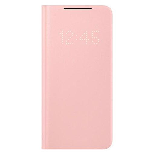 Kaaned Samsung Galaxy S21 EF NG991PP pink pink LED View Cover