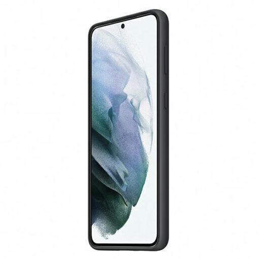 Kaaned Samsung Galaxy S21 EF PG991TB black black Silicone Cover 2