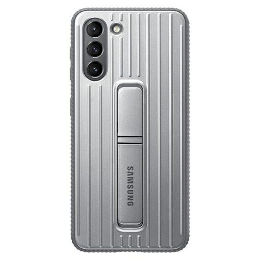 Kaaned Samsung Galaxy S21 EF RG991CJ light gray light gray Protective Standing Cover