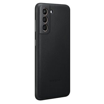 Kaaned Samsung Galaxy S21 EF VG991LB black black Leather Cover 1
