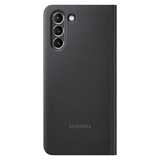 Kaaned Samsung Galaxy S21 EF ZG991CB black black Clear View Cover 2