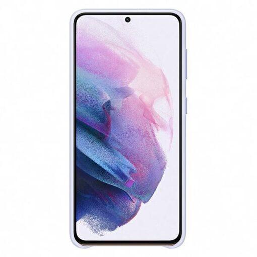 KaanedSamsung Galaxy S21 EF KG991CV purple violet LED Cover 3
