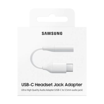 Samsung 3.5mm USB Type C adapter 3