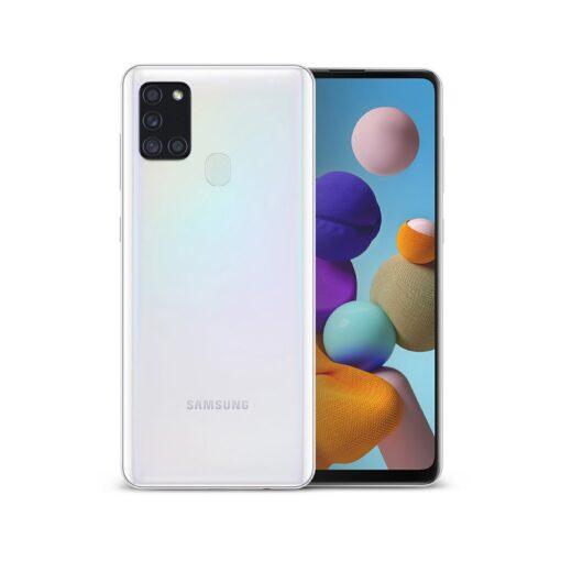 Samsung Galaxy A21S Ringke Fusion X tugev plastikust umbris silikoonist raamiga must XDSG0034 4