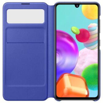 Samsung Galaxy A41 kaaned S View Standing Cover with Window must EF EA415PBEGEU 2