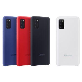 Samsung Galaxy A41 umbris Samsung Silicone Cover Flexible Gel must EF PA415TBEGEU 7