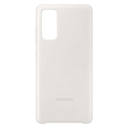 Samsung Galaxy S20 FE 5G kaaned Samsung Silicone Cover Flexible Gel Case white EF PG780TWEGEU 1