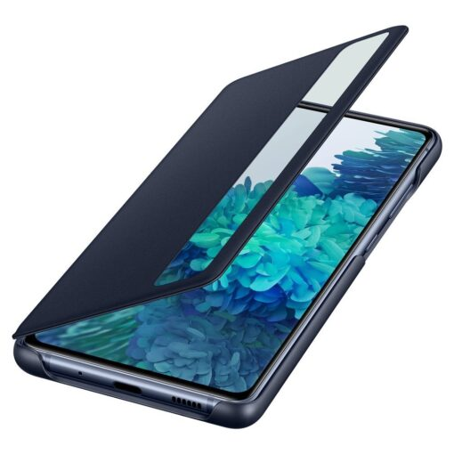 Samsung Galaxy S20 FE 5G kaaned Samsung Smart Clear View Standing Cover with Intelligent Display and antimicrobial coating EF ZG780CNEGEE 3