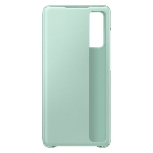 Samsung Galaxy S20 FE 5G kaaned Samsung Smart Clear View Standing Cover with Intelligent Display and antimicrobial coating mint EF ZG780CMEGEE 5