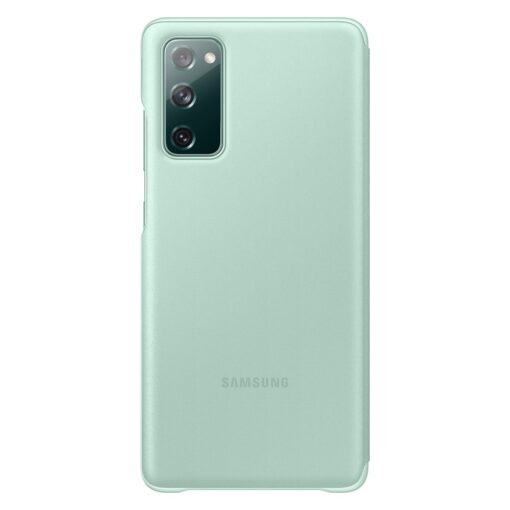 Samsung Galaxy S20 FE 5G kaaned Samsung Smart Clear View Standing Cover with Intelligent Display and antimicrobial coating mint EF ZG780CMEGEE 7