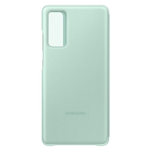 Samsung Galaxy S20 FE 5G kaaned Samsung Smart Clear View Standing Cover with Intelligent Display and antimicrobial coating mint EF ZG780CMEGEE 8