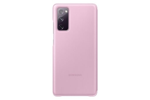 Samsung Galaxy S20 FE 5G kaaned Samsung Smart Clear View Standing Cover with Intelligent Display and antimicrobial coating pink EF ZG780CVEGEE 1