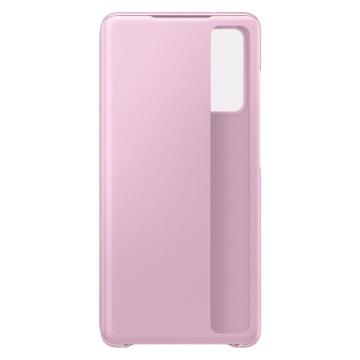 Samsung Galaxy S20 FE 5G kaaned Samsung Smart Clear View Standing Cover with Intelligent Display and antimicrobial coating pink EF ZG780CVEGEE 5
