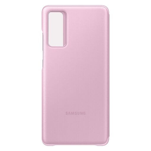 Samsung Galaxy S20 FE 5G kaaned Samsung Smart Clear View Standing Cover with Intelligent Display and antimicrobial coating pink EF ZG780CVEGEE 8