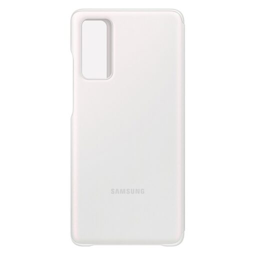 Samsung Galaxy S20 FE 5G kaaned Samsung Smart Clear View Standing Cover with Intelligent Display and antimicrobial coating white EF ZG780CWEGEE 3