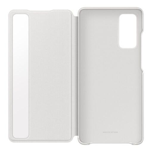 Samsung Galaxy S20 FE 5G kaaned Samsung Smart Clear View Standing Cover with Intelligent Display and antimicrobial coating white EF ZG780CWEGEE 7