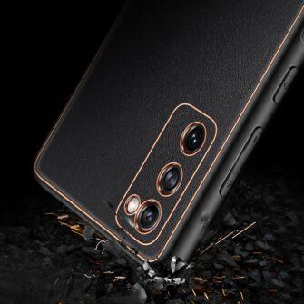 Samsung Galaxy S20 FE 5G umbris Dux Ducis Yolo elegant kunstnahast ja silikoonist servadega black 10