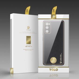 Samsung Galaxy S20 FE 5G umbris Dux Ducis Yolo elegant kunstnahast ja silikoonist servadega black 4