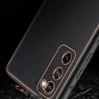 Samsung Galaxy S20 FE 5G umbris Dux Ducis Yolo elegant kunstnahast ja silikoonist servadega punane 19