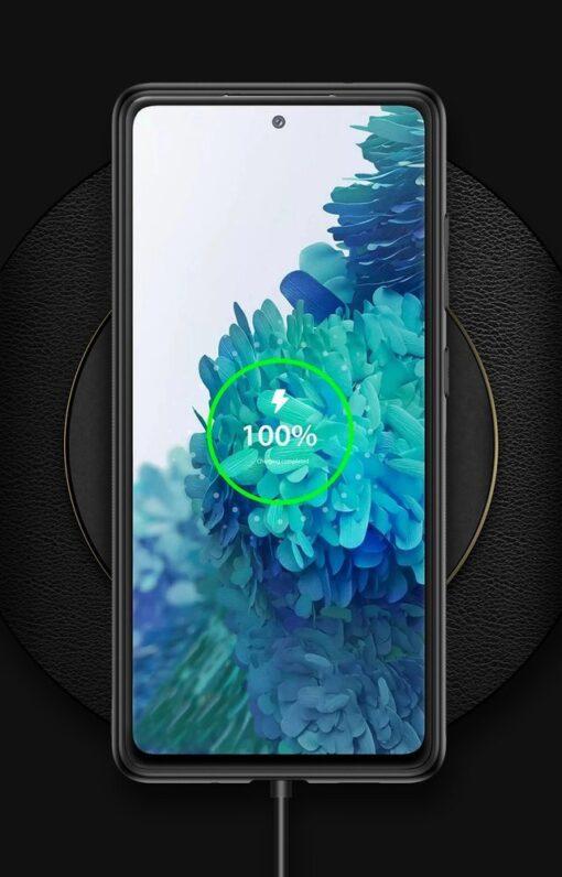 Samsung Galaxy S20 FE 5G umbris Dux Ducis Yolo elegant kunstnahast ja silikoonist servadega punane 22