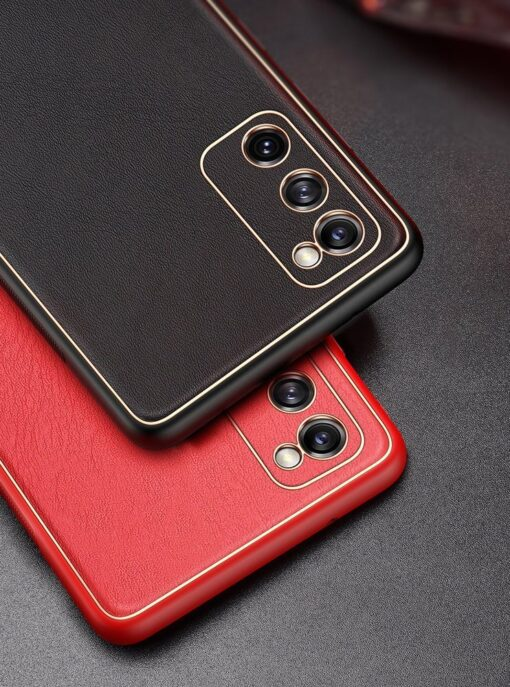 Samsung Galaxy S20 FE 5G umbris Dux Ducis Yolo elegant kunstnahast ja silikoonist servadega roosa 19