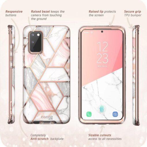 Samsung Galaxy S20 FE 5G umbris Supcase Cosmo Galaxy Marble 4