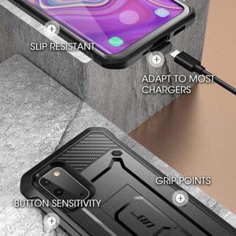 Samsung Galaxy S20 FE 5G umbris Supcase Unicorn Beetle Pro Black 4