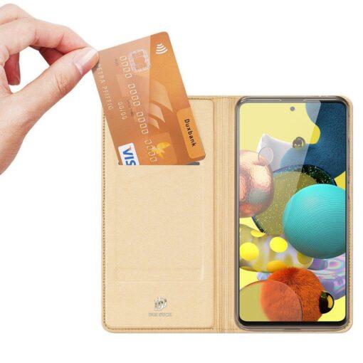 Samsung Galaxy S20FE kaaned kaarditaskuga kunstnahast kuldne 1