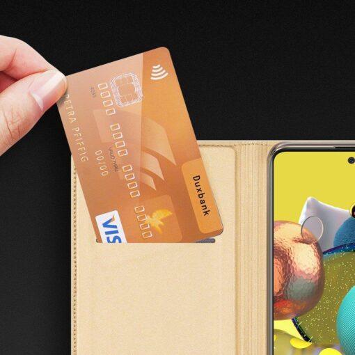 Samsung Galaxy S20FE kaaned kaarditaskuga kunstnahast kuldne 10