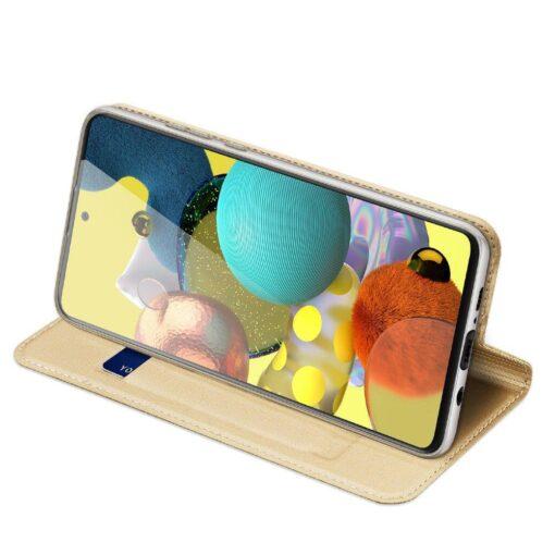 Samsung Galaxy S20FE kaaned kaarditaskuga kunstnahast kuldne 4