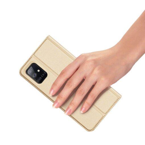 Samsung Galaxy S20FE kaaned kaarditaskuga kunstnahast kuldne 5