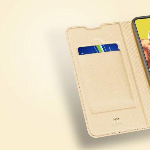 Samsung Galaxy S20FE kaaned kaarditaskuga kunstnahast kuldne 9