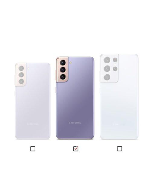 Samsung Galaxy S21 Plus Ringke Fusion X Design tugev umbris plastikust taguse ja silikoonist raamiga must camo XDSG0045 8