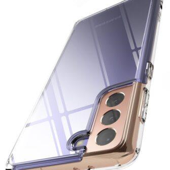 Samsung Galaxy S21 Plus Ringke Fusion umbris plastikust taguse ja silikoonist raamiga labipaistev FSSG0091 7