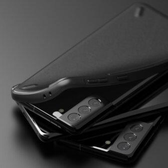 Samsung Galaxy S21 Plus Ringke Onyx tugev umbris silikoonist must OXSG0026 3