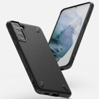 Samsung Galaxy S21 Plus Ringke Onyx tugev umbris silikoonist must OXSG0026 4
