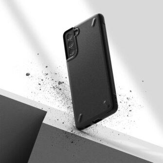 Samsung Galaxy S21 Plus Ringke Onyx tugev umbris silikoonist must OXSG0026 5