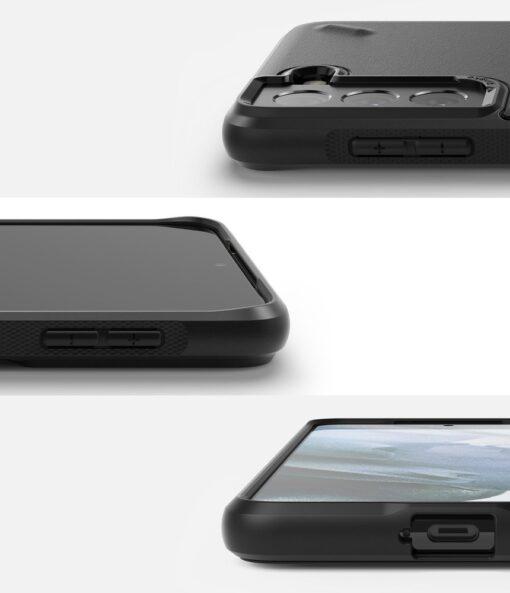 Samsung Galaxy S21 Ringke Onyx tugev umbris silikoonist must OXSG0025 1