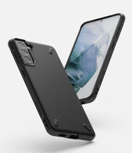 Samsung Galaxy S21 Ringke Onyx tugev umbris silikoonist must OXSG0025 2
