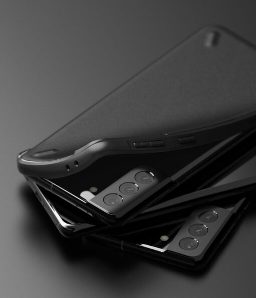Samsung Galaxy S21 Ringke Onyx tugev umbris silikoonist must OXSG0025 4