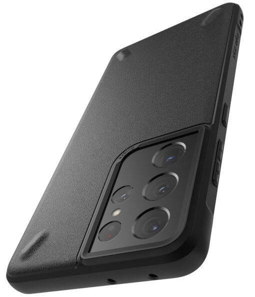 Samsung Galaxy S21 Ultra Ringke Onyx tugev umbris silikoonist must OXSG0027 7