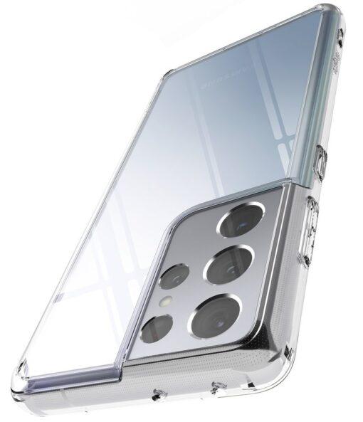 Samsung S21 Ultra silikoonist umbri labipaistev Ringke 10