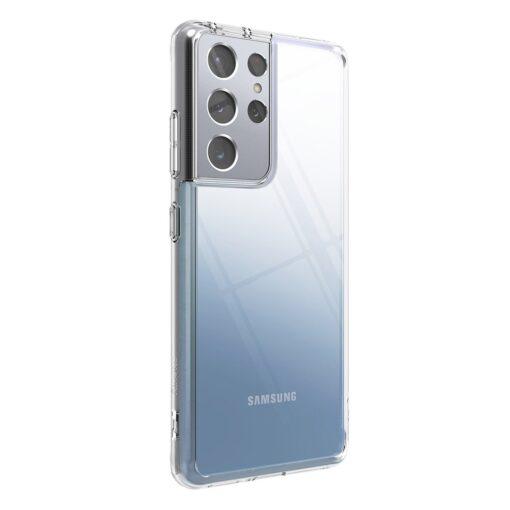 Samsung S21 Ultra silikoonist umbri labipaistev Ringke 11