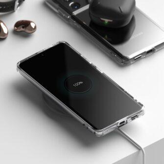 Samsung S21 Ultra silikoonist umbri labipaistev Ringke 6