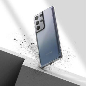 Samsung S21 Ultra silikoonist umbri labipaistev Ringke 7