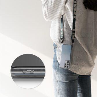 Samsung S21 Ultra silikoonist umbri labipaistev Ringke 8
