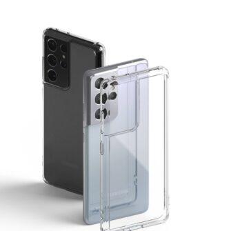 Samsung S21 Ultra silikoonist umbri labipaistev Ringke 9